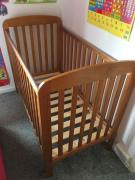 Wooden cot in latest design