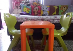 Used table chair for kids for sale