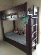 Hardly Used Wooden Bunk Bed