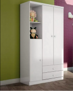 White Wardrobe Specially designed For Kids