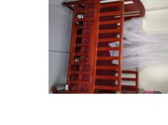 Baby cot with mattress and mosquito net
