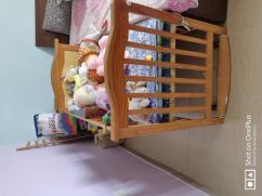 BabyTeddy Multifunctional Baby Crib