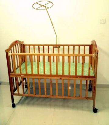 One Year Old Baby Cot in Excellent Condition