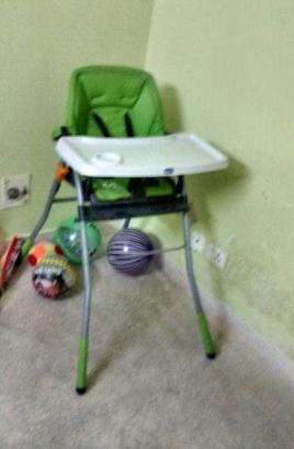 green colour chair in a good condition