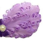 Feather Headband Available For Baby Girl
