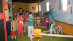 Amusing summer camp for kids
