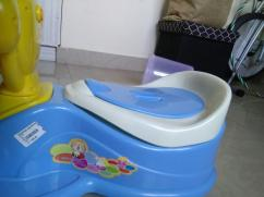 1st step potty trainer (rarely used)