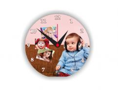 Sales for sublimation photo printed wall clock frames