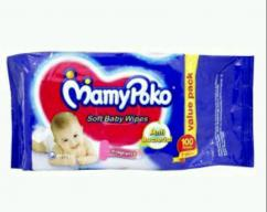 Mamy Poko Baby Wipes (100 Pcs)