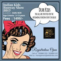 Indian Kids Runway Show - 2017