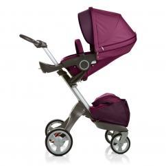 Brand New Stokke Xplory Stroller - Purple
