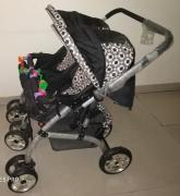 HH TWIN BABY STROLLER AND PRAM IN ONE