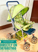 Baby Stroller , PRAM for Kids ( Green ) In Awesome Condition