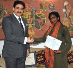 Sandeep Marwah Nominated Chair For Indo Principality Monte De Agrella Cultural F