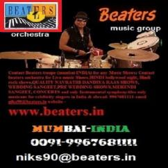 Orchestra Beaters for wedding sangeet and navratri