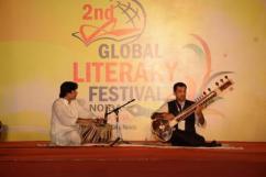 Sitar Recital by Dr Sudeep Rai at 2nd Global Literary Festival