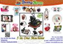 5-in-1 Heat Press Machine Sale For Dolly Rasa Personalized Gifts