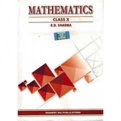 RD sharma Maths Book For Class 10th