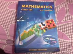 Maths Book For Class 8th By RD Sharma