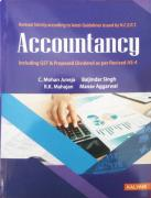 Gently Used Accountancy Book For Class 12th Available