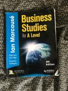 Less used business studies book available
