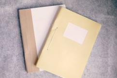 Exercise Book in less used Condition