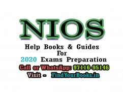 NIOS Books for 10th and 12th Class for 2020 Exam Preparation