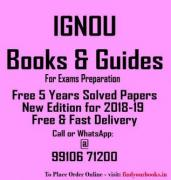 IGNOU MA English Books for First Year