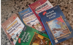 New oxford reading circle. Set of 5 books.