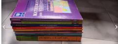 11th fyjc test books   digest of Hindi Engh maths