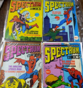rare vintage spectrum comic books for sale or exchange