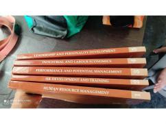 Symbiosis University PGDHRM course books