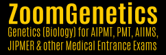 ZoomGenetics - A Software for Learning Genetics, AIPMT, CET