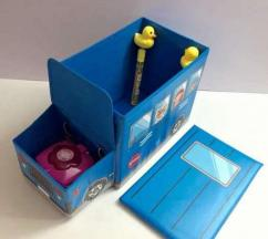 Storage Box In School Bus Style