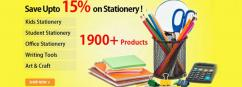 Stationery online store - buy books and stationery online shopping in India