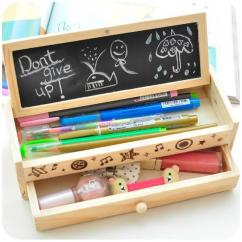 Wooden pencil Box In Fantastic Design Available