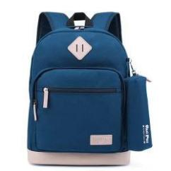 Brand New School Bag In Blue Color Available