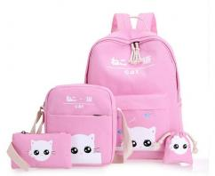 Bag Set For Little Kids In Light Pink Color