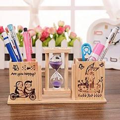 Wooden Pen Stand In Best Buy