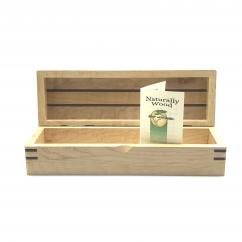 Wooden pen box available