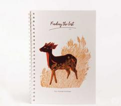 Four Horned Antelope Notebook
