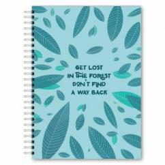 Forest A5 Notebook 120 Blank Pages
