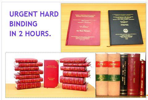 hard binding in delhi