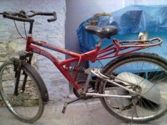 Rarely Used Bicycle In Running Condition