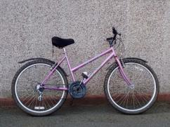 Less Used Cycle In Light Pink Color