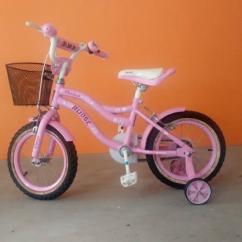 Kids Cycle In Light Pink Colour Available