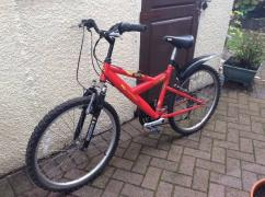 Red Coloured Sports Cycle For Boys Available