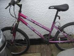 Very Rarely Used Cycle For Girls