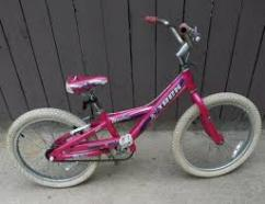 Pink Coloured cycle in excellent condition
