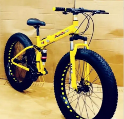 New fat tyre foldable cycle
